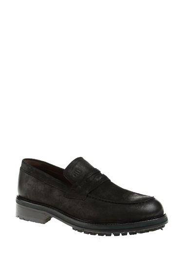 George Hogg %100 Deri Klasik Ayakkabı Siyah